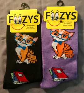 Professor Cat Socks