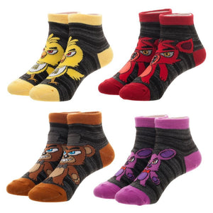 Five Nights Youth 4 Pair Sock Pack