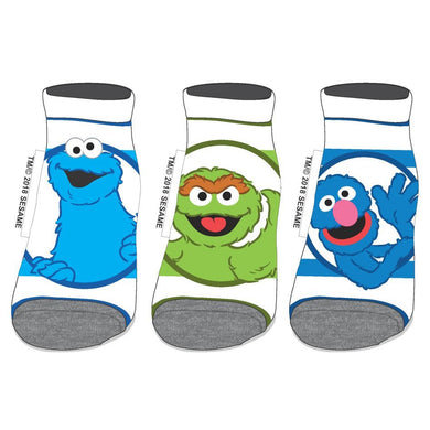 Sesame Street Ankle Socks 3 pack