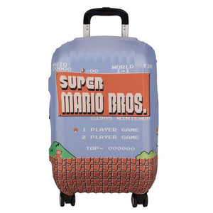 Super Mario Bros Luggage Cover