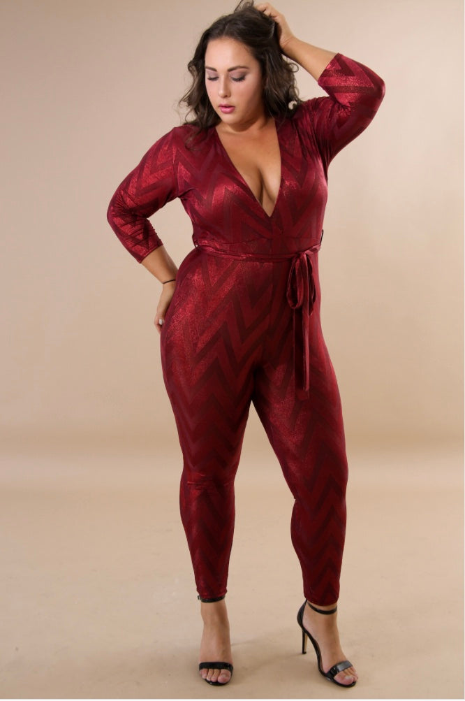 e021cee95b92 RUBY FEVER PLUS SIZE JUMPSUIT – BellaTailored2UFashion