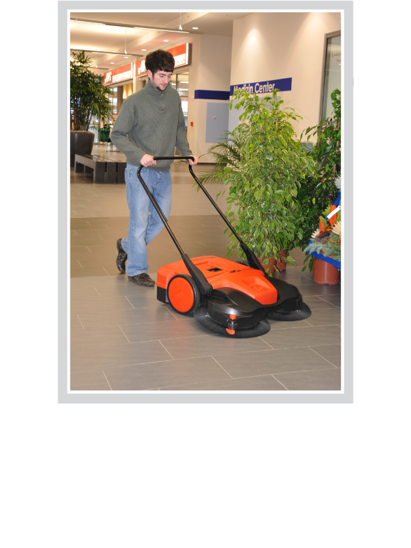 Battery Powered Sweepers