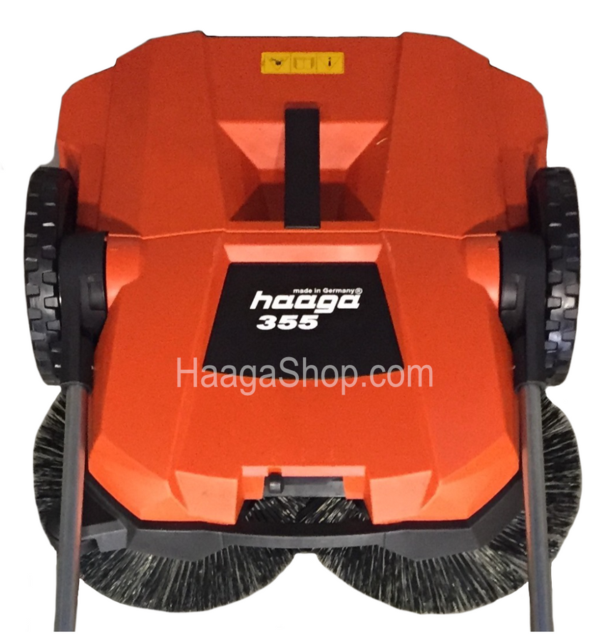 HAAGA 355 Sweeper top close-up view