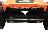 HAAGA 355 Sweeper rear middle brush close-up view