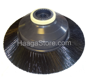 HAAGA 500201 | 497 Sweeper Circular Broom Brush - Left Side