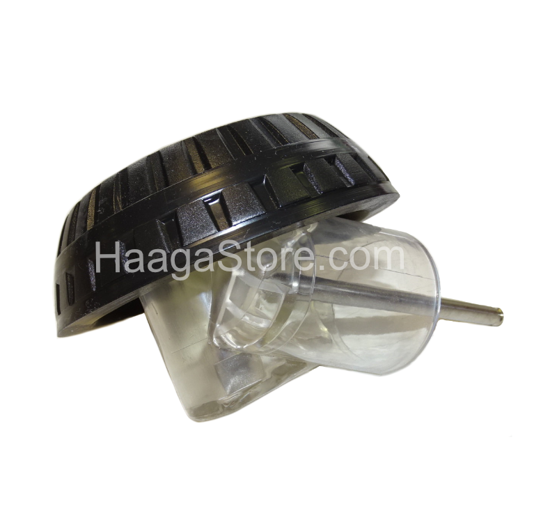 HAAGA 500451 Oblique Wheel with Cover -  Left Side