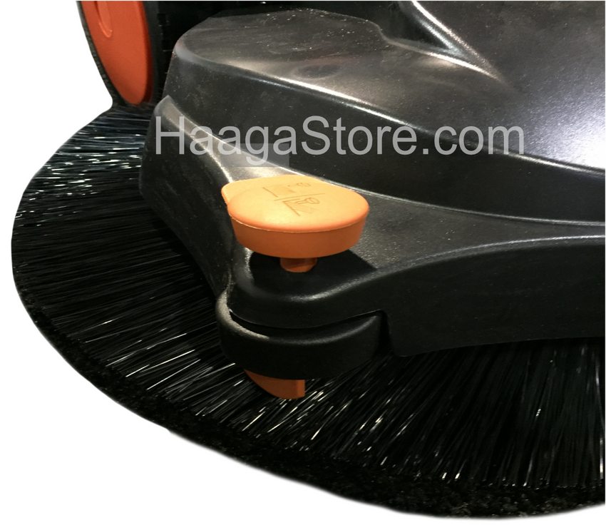 HAAGA 477 Sweeper roller wheel for edge cleaning