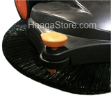 HAAGA 497 Sweeper roller wheel for edge cleaning