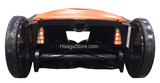 HAAGA 677 iSweep ACCU Sweeper rear middle brush close-up view