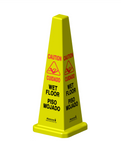 HURRICONE 36 inch Four Sided Wet Floor Safety Cone