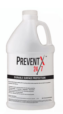PreventX 24/7 Antimicrobial Surface Virus Protection - 1 Gallon