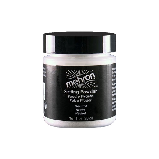 Mehron setting powder - neutral