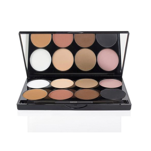 Mehron e.y.e powder 12 oz. palette 8 color