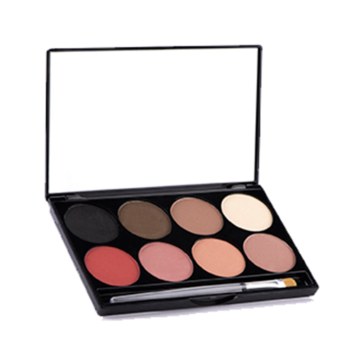 Mehron e.y.e power & cheek powder combo palette 8 shades
