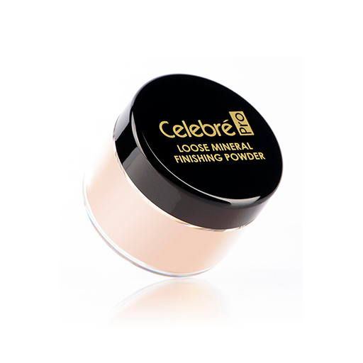 Mehron celebre loose mineral finish powder (light)