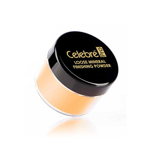 Mehron celebre loose mineral finish powder (medium dark)