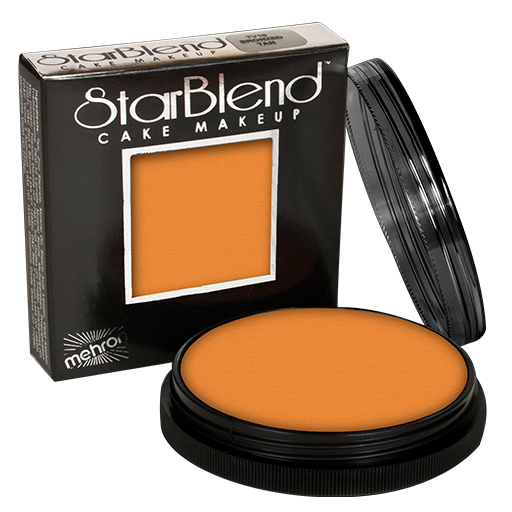 Mehron starblend cake makeup (golden brown)