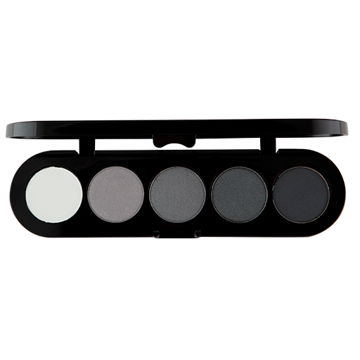 Atelier paleta de 5 sombras T12 (Black and white)