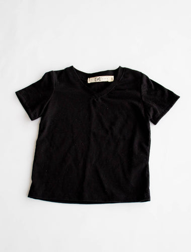 the organic cotton V tee