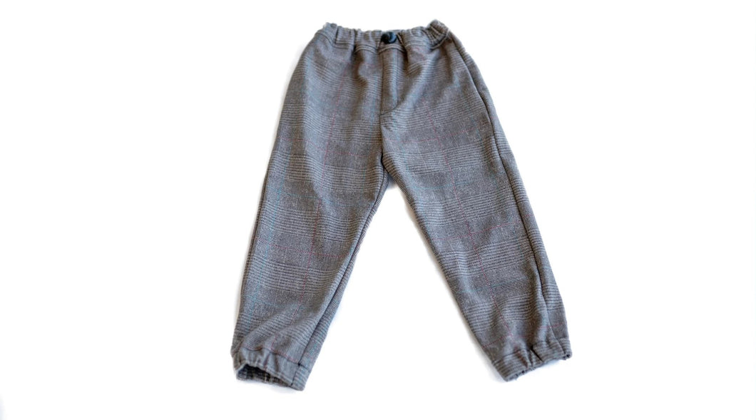 the plaid joggers