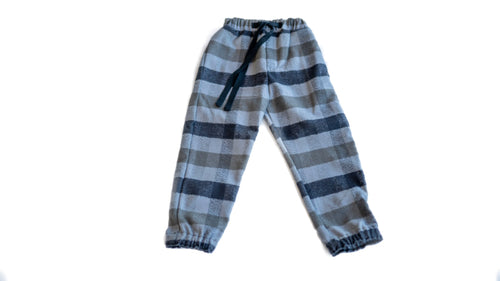 the flannel jogger