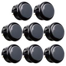 Sanwa 8 pcs OBSF-30(Gray) OEM Arcade Push Button (Mad Catz SF4 Tournament Joystick Compatible) - Sintron