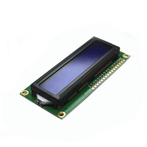 Sintron Backlight Screen With LCD 1602  Display For Arduino Blue Module 1602A 5V - Sintron