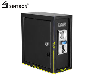 Sintron ST-003 Coin Operated Timer Control Box With 3 Prong/4 Prong 220V for US/Canada Dryer Power Plug - Sintron