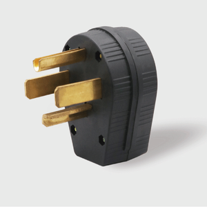 Sintron NEMA 10-30P/10-50P/14-30P/14-50P Straight Blade Plug and Sintron NEMA 10-30R/10-50R/14-30R/14-50R Straight Blade Female Receptacle, For Clothes Dryers and Kitchen Ranges, 125/250 Volt 30/50 Amp, IP20 Suitability, Heavy Duty Spec Industrial Grade. - Sintron