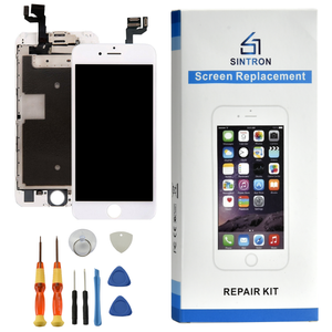 "Sintron ""Fully Assembled"" iPhone 5/5C/5S/6/6 Plus/6S/6S Plus/7/7 Plus/8/8 Plus White Replacement LCD & Touch Screen Digitizer .Works like Original !"