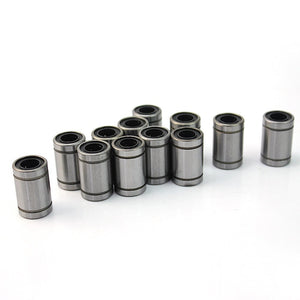 [Sintron] 12pcs LM8UU Linear Ball Bearing Bush Bushing for 8mm Rod RepRap 3D Printer Prusa Mendel i3 Kossel Delta etc.. - Sintron
