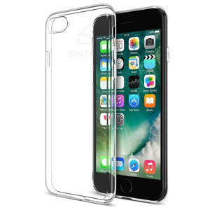 Exclusive offer iPhone 5/5S/SE/6/6 Plus/7/7 Plus/8/8 Plus Clear Case - Ultra Thin Crystal Fully Transparent, Shock Absorption, Flexible Durable, Scratch and Smudge Resistant, TPU Environmental Protection Material - Sintron