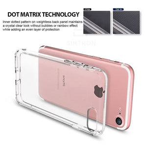 Sintron iPhone 7/8 Clear Case - Ultra Thin Crystal Fully Transparent, Shock Absorption, Flexible Durable, Scratch and Smudge Resistant, TPU Environmental Protection Material, Support Wireless Charging, for iPhone 7/8, 24-Hour Customer Support, 30-Day - Sintron
