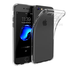 Sintron iPhone 7/8 Clear Case - Ultra Thin Crystal Fully Transparent, Shock Absorption, Flexible Durable, Scratch and Smudge Resistant, TPU Environmental Protection Material, Support Wireless Charging, for iPhone 7/8, 24-Hour Customer Support, 30-Day