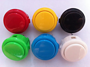 Original Sanwa Push Buttons OBSF-30 for Arcade Jamma Games parts - Sintron