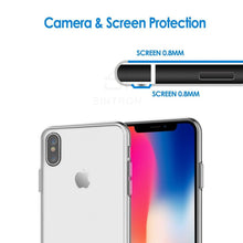 Sintron iPhone X Clear Case - Ultra Thin Crystal Fully Transparent, Shock Absorption, Flexible Durable, Scratch and Smudge Resistant, TPU Environmental Protection Material, Support Wireless Charging, for iPhone X, 24-Hour Customer Support, 30-Day Money - Sintron