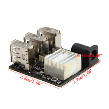 Sintron 3 USB Mini Charging Module DC-DC 9V/12V To 5V 8A Step Down Power Charger Bank Board Step-Down Buck Converter For Arduino - Sintron