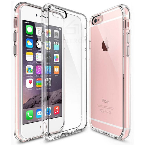 Sintron iPhone 6/6S Clear Case - Ultra Thin Crystal Fully Transparent, Shock Absorption, Flexible Durable, Scratch and Smudge Resistant, TPU Environmental Protection Material, for iPhone 6/6S, 24-Hour Customer Support, 30-Day Money Back Guaranteed - Sintron