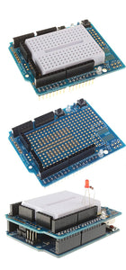 Sintron Arduino Uno R3 Starter Kit - Tutorial CD + Transparent Acrylic Case LCD Servo Motor Sensor Module etc, for Arduino Beginner Learner