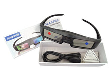 Sintron 2X ST07-BT Rechargeable 3D Glasses Specially for RF/Bluetooth 3D TV Compatible with TDG-BT500A TDG-BT400A TY-ER3D5MA & 99% Sony Panasonic Samsung TV - Sintron