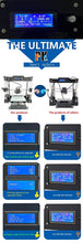 [Sintron] NEW! TW-101 2019 Upgrade Pro 3 in 1 3D Printer Reprap Prusa i3 MK8 LCD - Sintron