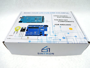 [Sintron] UNO R3 Starter Kit with 4x4 Keypad Switch + 8x8 Dot Matrix + RGB Tri-colour Module for Arduino Starter - Sintron