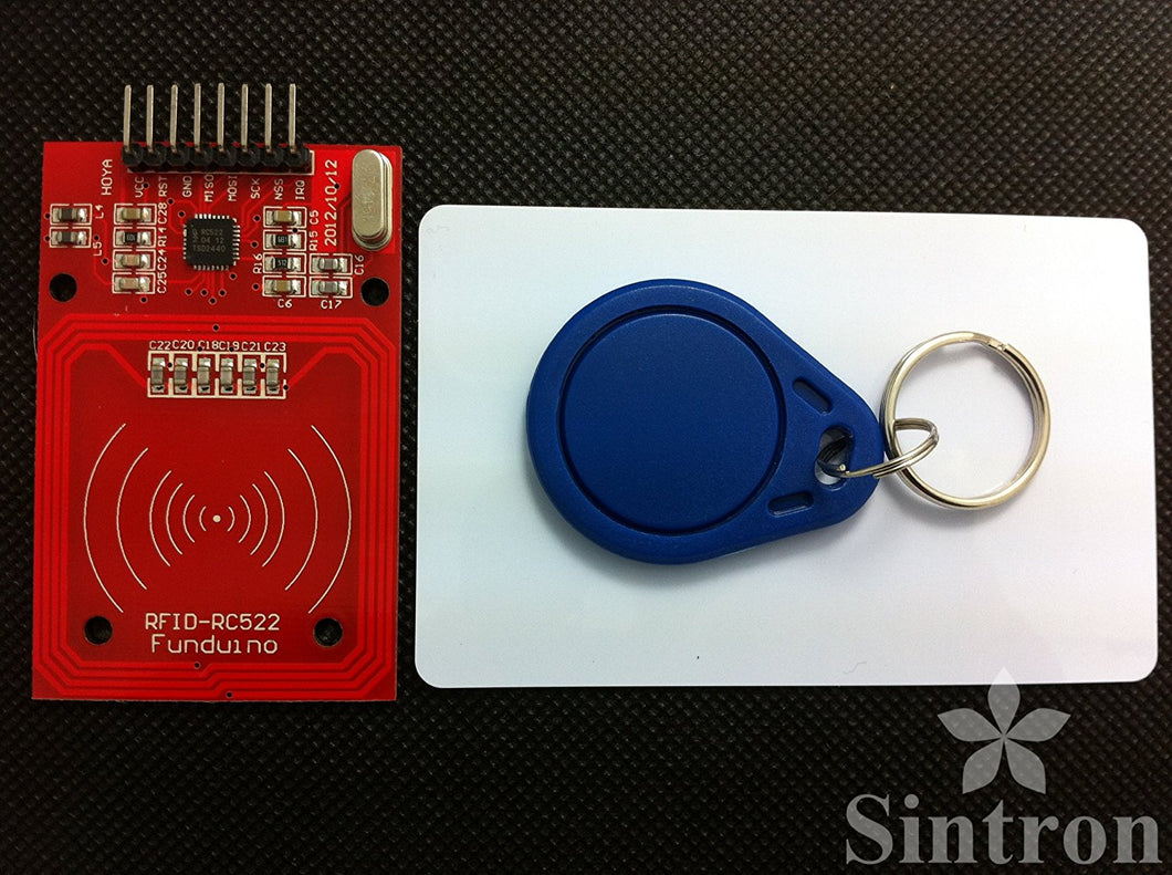 [Sintron] RC522 RFID Reader / Writer Module kit with SPI for Arduino PIC + PDF - Sintron
