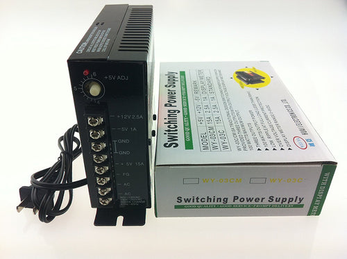 Sintron Arcade JAMMA Game Switching Power Wei-Ya WY-03C DC Power Supply +12V +5V -5V - Sintron