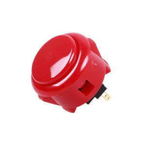 Sanwa 6 pcs OBSF-3 (Red) OEM Arcade Push Button (Mad Catz SF4 Tournament Joystick Compatible) - Sintron