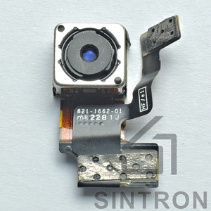 Sintron iPhone 5/5C/5S/6/6Plus/6S/6SPlus Rear Back Camera - Replacement Repair Part for iPhone Facing Rear Back Camera Lens Flex Cable Flash Cam Module - Sintron