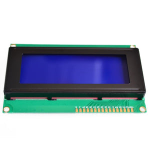 Sintron LCD 2004 20x4 Character LCD Display Module  HD44780 Controller blue screen backlight for Arduino - Sintron