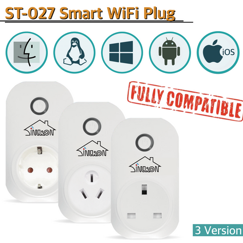 Sintron ST-027 Smart Plug Socket - for Developer version - Sintron