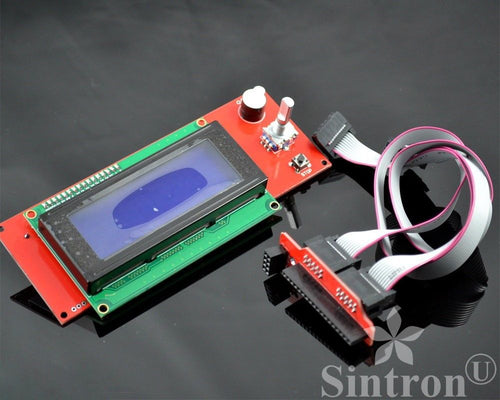 [Sintron] 2004 LCD Smart Display Controller Module with Adapter for 3D Printer Controller RAMPS 1.4 Arduino Mega Pololu Shield Arduino RepRap - Sintron