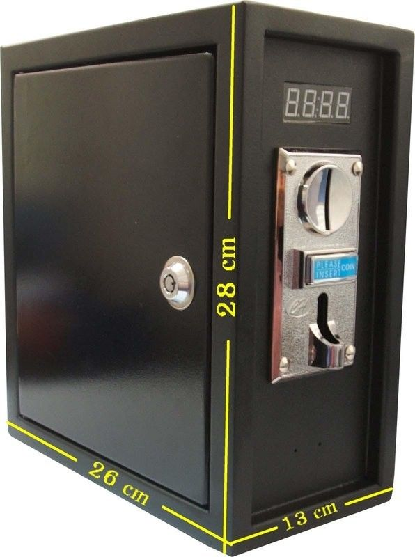 [Sintron] ST-002 Coin operated Timer box to Control 110V/220V electronic device ( washing machine ,Gas dryer ,arcade game etc...) - Sintron